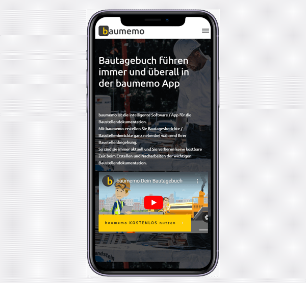 bautagebuch app